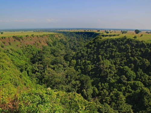 QUEEN ELIZABETH NATIONAL PARK, UGANDA: Kyambura Gorge.