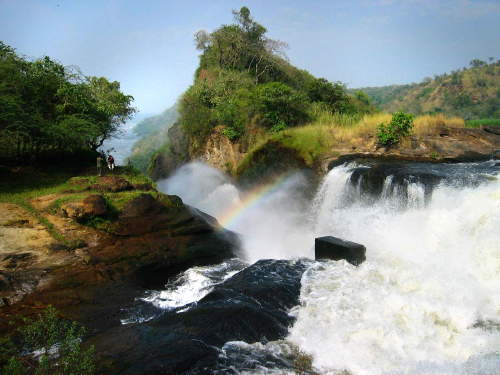 LIST & MAP NATIONAL PARKS UGANDA PDF: Murchison Falls National Park: From the top.