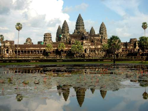 BEST NATIONAL PARKS IN THE WORLD: TOP 10 MOST VISITED WORLDWIDE: Angkor Wat Temple in Cambodia