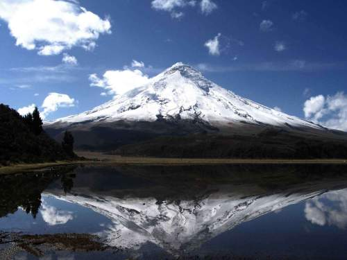 NATIONAL PARKS OF ECUADOR: The Cotopaxi National Park is home to the world's highest active volcano.