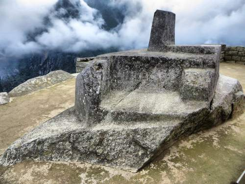 NATIONAL PARKS OF PERU [WHICH ARE BEST]: Inti Huatana or Inti Watana solar Inca Calendar.