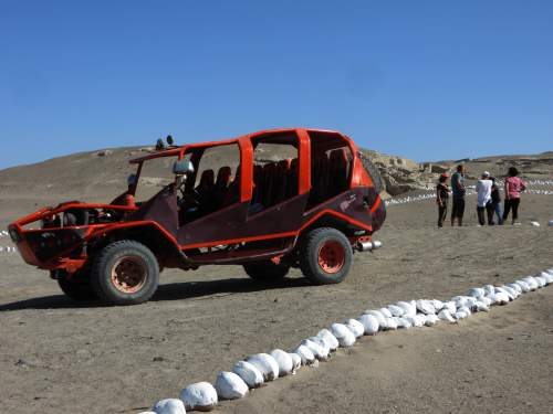 NATIONAL PARKS OF PERU [WHICH ARE BEST]:  San Fernando National Reserve: Visitor adopted dune-buggies are the ideal transportation.